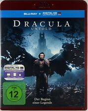 BLU-RAY DVD Dracula Untold LUKE EVANS-DOMINIC COOPER Fantasyfilm 2014 NEUWERTIG!