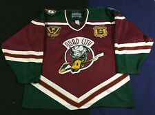 Quad City Mallards Hockey UHL bauer Jersey SizeL