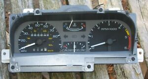 87-89  LINCOLN LSC MARK 7 VII SPEEDOMETER INSTRUMENT CLUSTER 64K E6LF-10848-A
