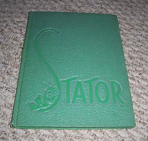 1944 THE STATOR Yearbook Corning Free Academy CORNING NEW YORK ANNUAL RARE