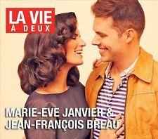 MARIE-EVE JANVIER & JEAN-FRANCOIS BREAU La Vie a Deux (CD 2011) 12 Songs French