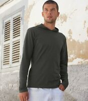 Fruit of the Loom Liso Capucha Camiseta Sudadera Con Capucha