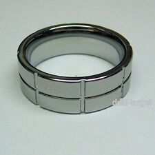 Ring Band Tungsten Carbide Permanently Polished Wedding Size Selectable Unisex