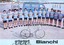 Team GS BIANCHI PIAGGIO 80 Cycling radsport ciclismo BARONCHELLI CONTINI VANOTTI