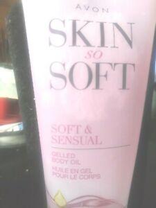 Avon Skin So Soft Gelled Body Oil