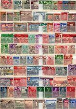 Schweiz  - Lot , meist o aus  1914 - 1945  -  KW 150,-- €   ( 32067 )