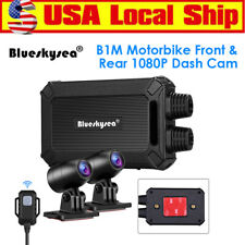 Blueskysea B1M Dual Channels 1080P 30FPS Motorbike Wifi Dash Cam Recorder Loop