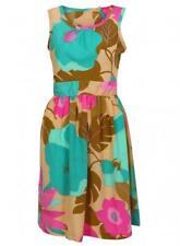 Vestido de verano nuevo Ex Dorothy Perkins Sin Mangas Floral de sol RRP £ 38
