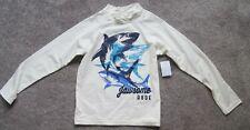 OshKosh , Boys Long Sleeve T Shirt, Color: White, Size:...