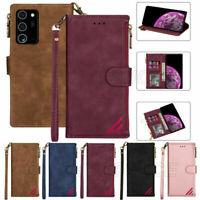 For Huawei P40 P30 P20 Pro/Lite P Smart Magnetic Leather Wallet Case Flip Cover