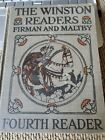 The Winston Readers Firman And Maltby Fourth Reader 1925