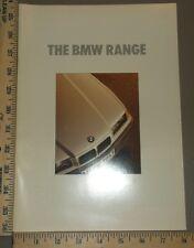 1991 BMW Brochure Original Full Line Japanese
