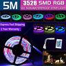 300 LEDS RGB 5M 3528 SMD LED Strip Light Lights 12V + IR Controller