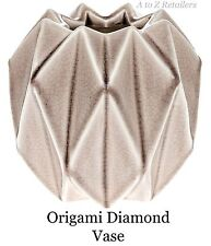 Fiore in Ceramica ORIGAMI VASI VASI DECORAZIONI ARREDAMENTO ART Gifts NUOVO 50790