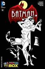 BATMAN ADVENTURES 12 WIZARD COMIC CON BOX SKETCH B&W VARIANT 1st HARLEY QUINN