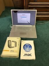 Apple PowerBook G4 (A1052)  1.67GHz / 512RAM / 80GB HD (wiped)