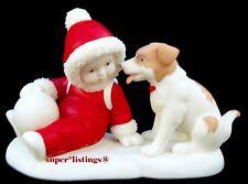 Dept. 56 Snowbabies on the Farm Babies Best Friend Retired New 67525