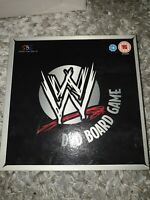 WWE Wrestling DVD Board Game Smackdown vs Raw Interacive family game COMPLETE