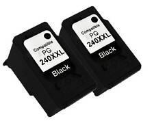 2PK INK PG-240XXL 240XXL PG240XXL FOR CANON PIXMA MG2120 MG4120 MG2220 Black