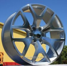26 INCH STW288 RIMS AND TIRES SILVERADO 2WD 4WD SIERRA ARMADA  ESCALAD TAHOE 26