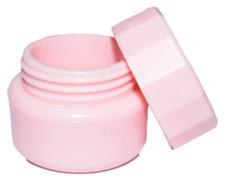 5 Tiegel Leer Dose Cremedose Kosmetikdose Doppelwandig Rosa 5ml