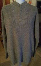 Redhead Size Large Light Brown Heavy Sweater Very Nice 4 Buttons in Front