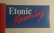 Aufkleber/Sticker: Etonic Running (250117174)