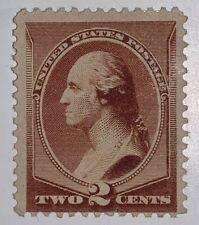 TRAVELSTAMPS: 1881-82 US Stamps Scott # 210, Washington, mint, no gum, Hinged