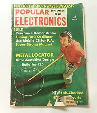 POPULAR ELECTRONICS Magazine September 1962• Directory of Short-Wave Newscasts