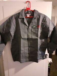 New old stock  vintage Grey landRover Rover group ,workshop short jacket