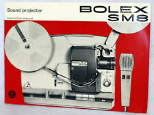 Bolex SM8 Sound Projector Original Instruction Manual Complete Pre-Owned OEM