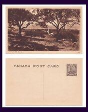 CANADA NOVA SCOTIA HANTSPORT ON TWO CENT POSTAL CARD CIRCA 1930