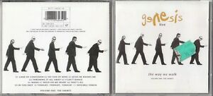 GENESIS CD LIVE  ( THE WAY WE WALK)
