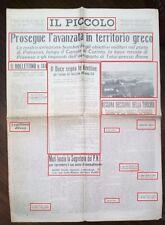 WW2-IL DUCE SEGNA LE DIRETTIVE X AZIONE FASCO DELL'ANNO XIX-DEL30-10-1940 N.1720