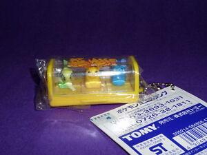 ot  S6 Tomy Pokemon Figure (2001) Keychain Celebi Pikachu Azurill.