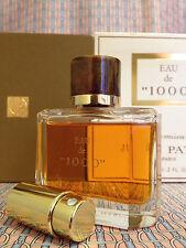 Vintage 1980s Eau de 1000 Jean Patou LARGE 2 oz 60 ml Eau de Parfum CRYSTAL