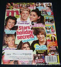 M Magazine December 2013 One Direction Ariana Selena Big Time Rush Louis Ross R5