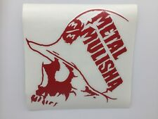"Metal Mulisha stickers ""Splash""  Sticker --Free Shipping"