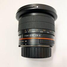 Rokinon Samyang CS II 8mm f/3.5 Aspherical IF MC Fish-Eye Nikon F Mount Fisheye
