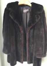 Ranch Mink Ladies Stroller Coat Close To Size Medium
