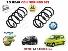 FOR CHEVROLET DAEWOO MATIZ 2005 > 2X REAR AXLE LEFT RIGHT COIL SPRINGS SET