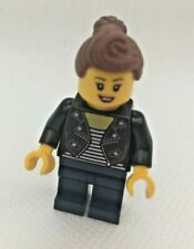 Lego City Girl in Leather Jacket  from 60234 Fun Fair People Pack New