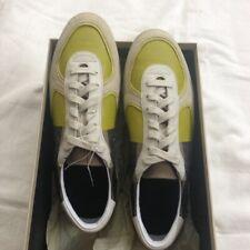 Burberry Check Detail Leather Sneaker Shoes Men Boys Original US 7.5  Euro 40