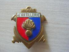INSIGNE ecole d'artillerie    ref 13       drago h252