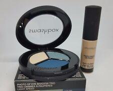 New! Smashbox PhotoFinish Eye Primer Travel Sz & Full Size Eyeshadow Trio!!