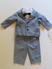 NWT Koala Baby 3 Pc Dres Up Suit Tuxedo Baby Infant Boys 3 Months $49.99