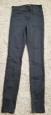 Womens Level 99 Gray Skinny Jeans Sz 25 (?) XXS
