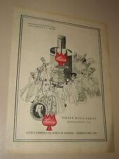 JOHANN MARIA FARINA COLOGNE=ANNI '50=PUBBLICITA'=ADVERTISING=WERBUNG=243=