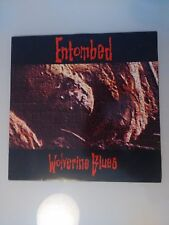 ENTOMBED WOLVERINE BLUES 1993 EARACHE MOSH 82 1st CUT VINYL LP 12''