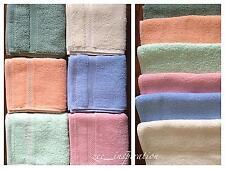 Bulk Lot 12 Reusable Facial Towels Cloth 100% Cotton 30x30cm Assorted Colours